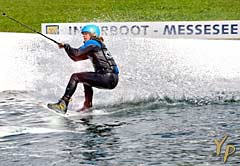 Wakeboard-Jam INTERBOOT-MESSESEE in Friedrichshafen am Bodensee in Deutschland